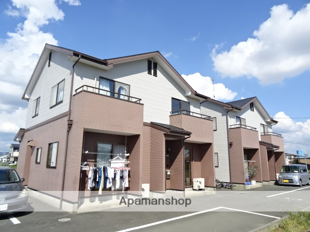 静岡県浜松市北区、浜松駅バス40分別院下車後徒歩6分の築16年 2階建の賃貸テラスハウス