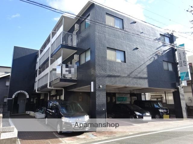 静岡県浜松市中区、浜松駅遠鉄バスバス15分西郵便局下車後徒歩4分の築33年 3階建の賃貸マンション