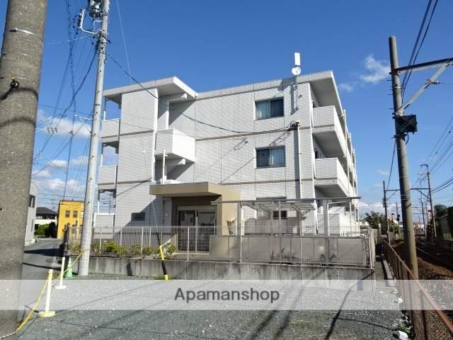 静岡県浜松市東区、浜松駅バス30分大島町西下車後徒歩8分の築4年 3階建の賃貸マンション
