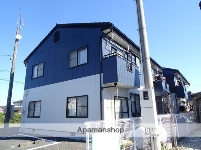 静岡県浜松市浜北区、浜北駅徒歩19分の築22年 2階建の賃貸アパート