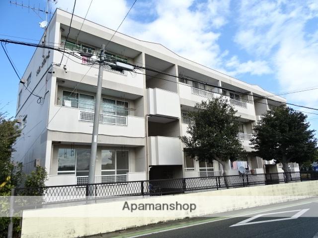 静岡県浜松市中区、浜松駅バス18分早出町下車後徒歩3分の築36年 3階建の賃貸アパート