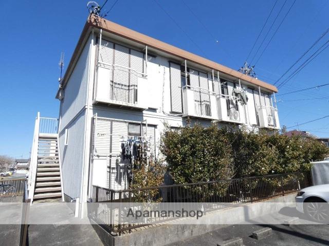 静岡県浜松市東区、浜松駅バス30分大島町西下車後徒歩6分の築24年 2階建の賃貸アパート