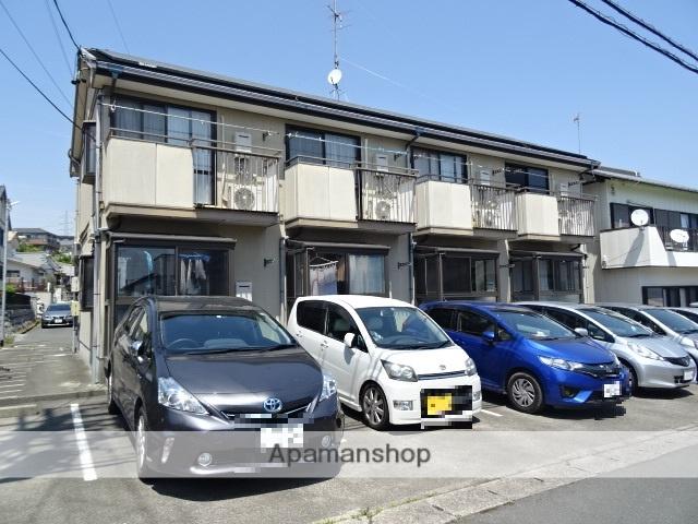 静岡県浜松市東区、浜松駅遠鉄バスバス27分日体高前下車後徒歩4分の築23年 2階建の賃貸アパート