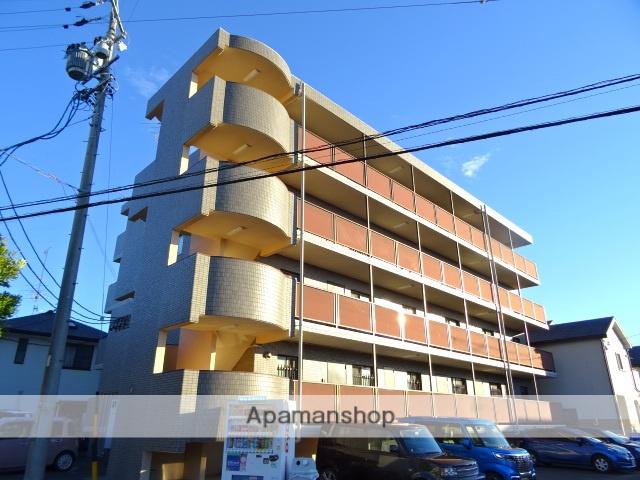 静岡県浜松市中区、浜松駅バス30分追分上下車後徒歩4分の築22年 4階建の賃貸マンション