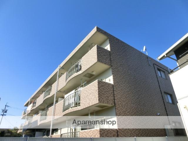 静岡県浜松市中区、浜松駅遠鉄バスバス9分茄子橋下車後徒歩4分の築17年 3階建の賃貸マンション