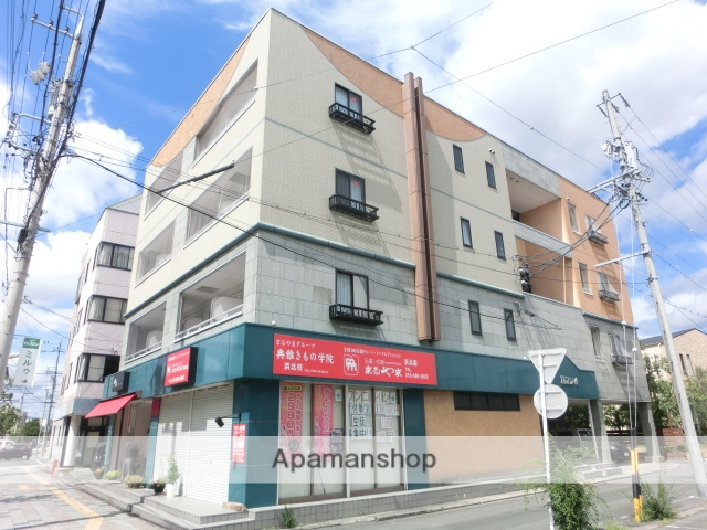 静岡県浜松市浜北区、遠州小松駅徒歩15分の築18年 4階建の賃貸マンション