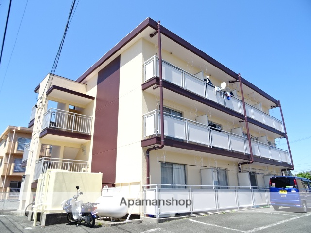 静岡県浜松市西区、新浜松駅遠鉄バスバス48分馬渡下車後徒歩3分の築30年 3階建の賃貸マンション