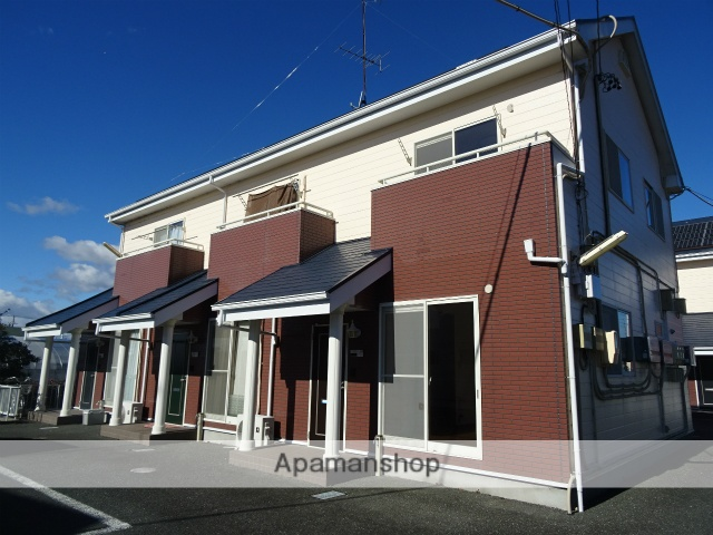 静岡県浜松市北区、フルーツパーク駅徒歩34分の築16年 2階建の賃貸アパート
