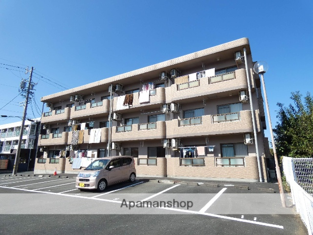 静岡県浜松市北区、常葉大学前駅徒歩53分の築14年 3階建の賃貸マンション