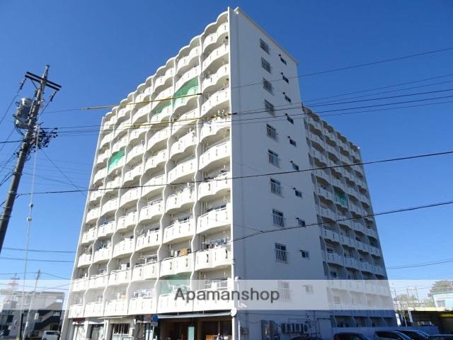 静岡県浜松市東区、浜松駅遠鉄バスバス11分名塚下車後徒歩4分の築42年 11階建の賃貸マンション
