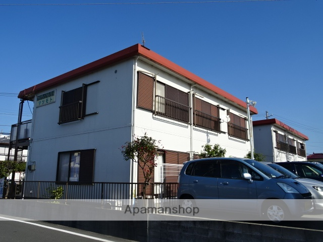 静岡県浜松市北区、浜松駅遠鉄バスバス25分初生町下車後徒歩1分の築27年 2階建の賃貸アパート
