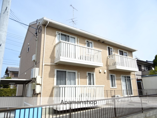 静岡県浜松市西区、浜松駅遠鉄バスバス45分浅羽東下車後徒歩1分の築8年 2階建の賃貸アパート
