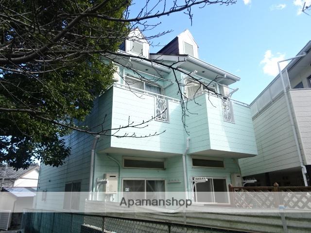 静岡県浜松市中区、浜松駅遠鉄バスバス18分下屋敷下車後徒歩6分の築27年 2階建の賃貸アパート