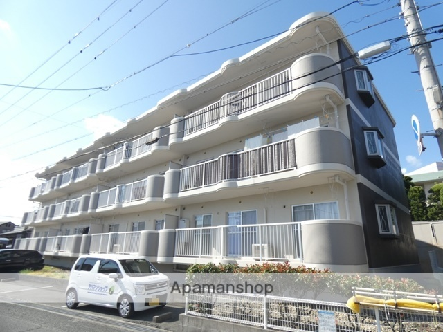 静岡県浜松市東区、天竜川駅徒歩20分の築21年 3階建の賃貸マンション