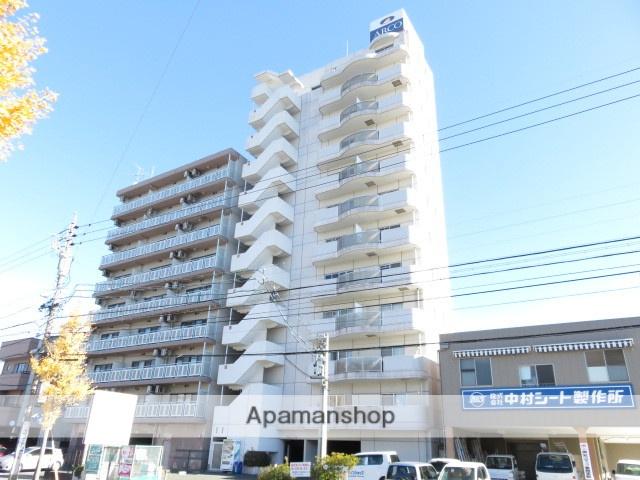 静岡県浜松市中区、浜松駅徒歩12分の築20年 11階建の賃貸マンション