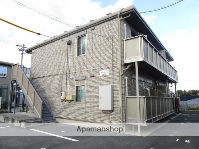 静岡県浜松市西区、浜松駅遠鉄バスバス30分神田原下車後徒歩8分の築7年 2階建の賃貸アパート