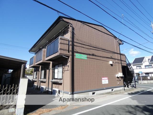 静岡県浜松市中区、浜松駅バス15分静岡大学下車後徒歩11分の築16年 2階建の賃貸アパート