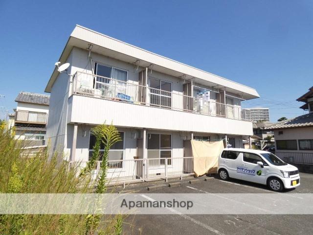 静岡県浜松市東区、自動車学校前駅徒歩6分の築17年 2階建の賃貸アパート