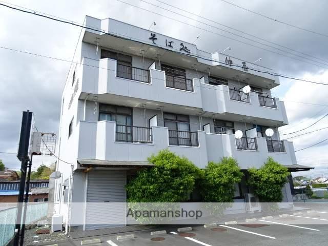静岡県浜松市浜北区、岩水寺駅徒歩27分の築28年 3階建の賃貸アパート