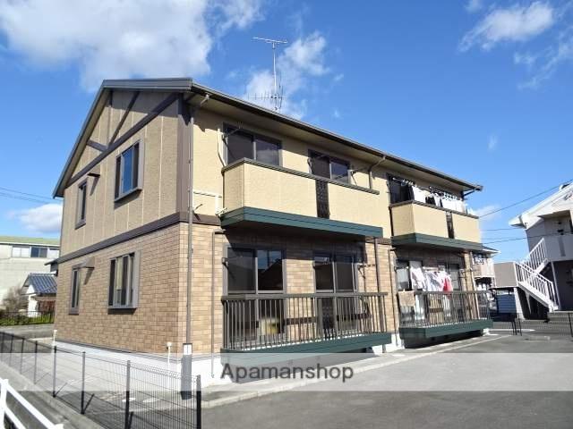 静岡県浜松市東区、天竜川駅徒歩10分の築14年 2階建の賃貸アパート