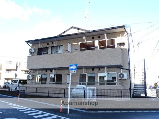 静岡県浜松市浜北区、遠州芝本駅徒歩24分の築11年 2階建の賃貸アパート