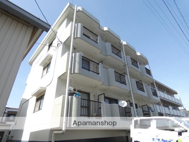 静岡県浜松市東区、天竜川駅徒歩3分の築25年 3階建の賃貸マンション