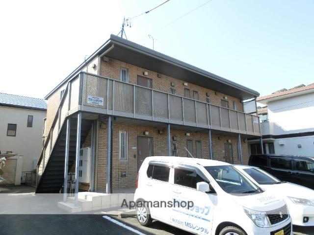 静岡県浜松市東区、天竜川駅徒歩21分の築12年 2階建の賃貸アパート