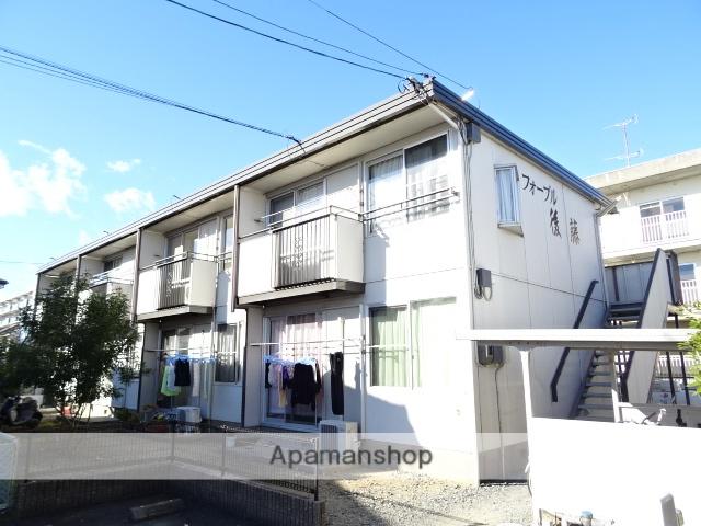 静岡県浜松市東区、天竜川駅徒歩22分の築34年 2階建の賃貸アパート