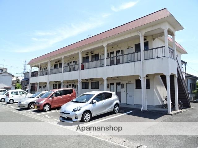 静岡県浜松市東区、天竜川駅徒歩22分の築30年 2階建の賃貸アパート