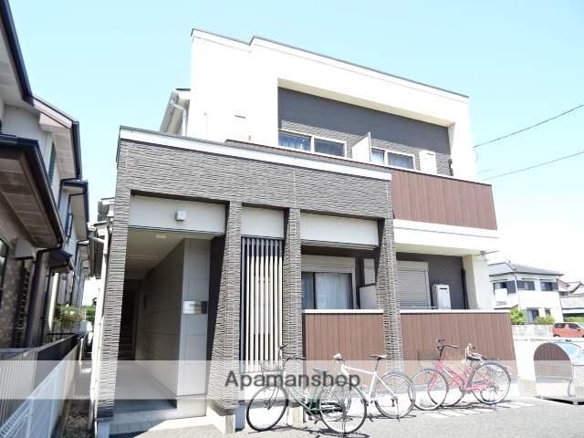 静岡県浜松市東区、浜松駅バス25分中田町下車後徒歩3分の築9年 2階建の賃貸アパート