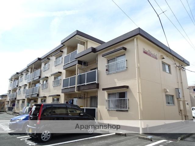 静岡県浜松市浜北区、遠州小松駅徒歩11分の築28年 3階建の賃貸マンション