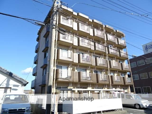 静岡県浜松市浜北区、遠州西ヶ崎駅徒歩25分の築26年 5階建の賃貸マンション