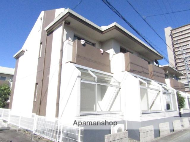静岡県浜松市中区、浜松駅遠鉄バスバス20分京田下車後徒歩2分の築29年 2階建の賃貸アパート