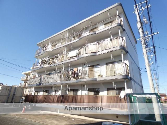 静岡県浜松市東区、天竜川駅徒歩7分の築24年 4階建の賃貸マンション