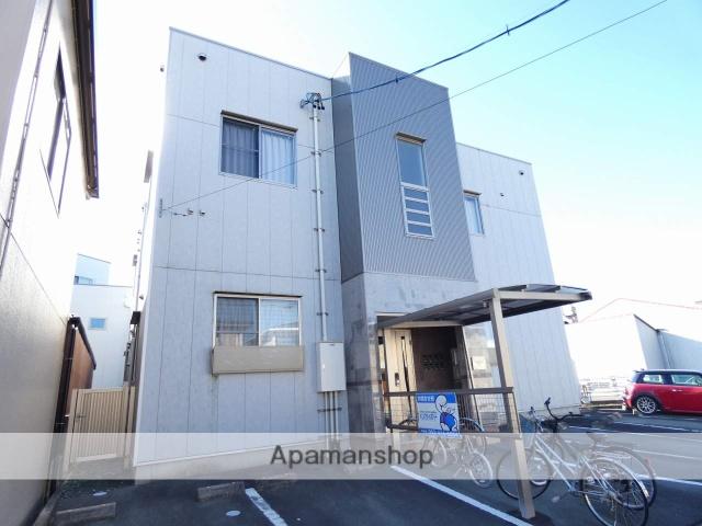 静岡県浜松市中区、浜松駅バス12分柳通り下車後徒歩8分の築6年 2階建の賃貸アパート