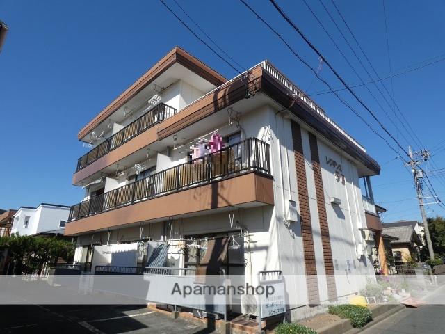 静岡県浜松市中区、助信駅徒歩15分の築33年 3階建の賃貸マンション