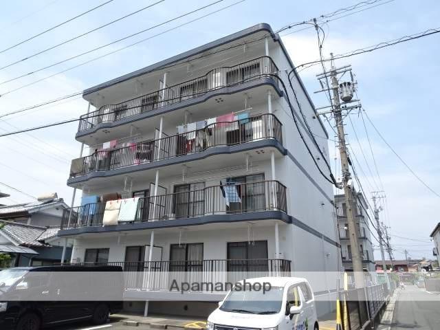 静岡県浜松市東区、天竜川駅徒歩8分の築26年 4階建の賃貸マンション