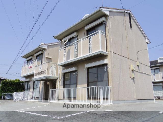 静岡県浜松市東区、自動車学校前駅徒歩10分の築24年 2階建の賃貸アパート