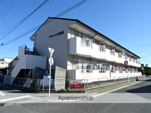 静岡県浜松市東区、天竜川駅徒歩20分の築32年 2階建の賃貸アパート