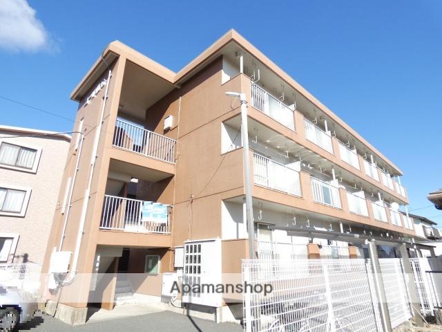 静岡県浜松市東区、天竜川駅徒歩7分の築33年 3階建の賃貸マンション