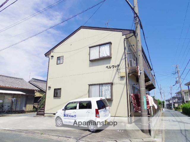 静岡県浜松市中区、浜松駅バス22分幸南下車後徒歩5分の築22年 2階建の賃貸アパート