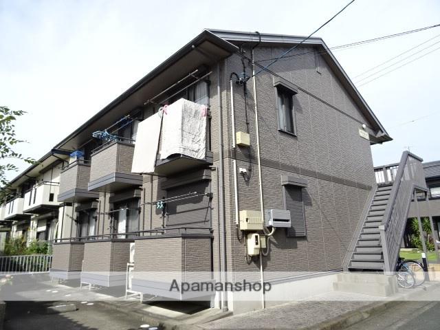 静岡県浜松市西区、浜松駅遠鉄バスバス40分柏原西下車後徒歩3分の築13年 2階建の賃貸アパート