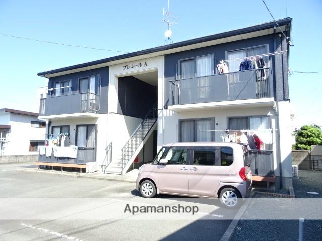 静岡県浜松市西区、浜松駅遠鉄バスバス40分浅羽東下車後徒歩4分の築15年 2階建の賃貸アパート