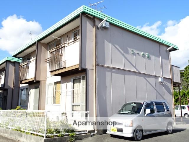 静岡県浜松市西区、浜松駅遠鉄バスバス35分西ノ宮下車後徒歩2分の築33年 2階建の賃貸アパート