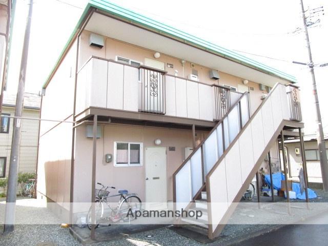 静岡県浜松市西区、浜松駅遠鉄バスバス40分西ノ宮下車後徒歩2分の築33年 2階建の賃貸アパート