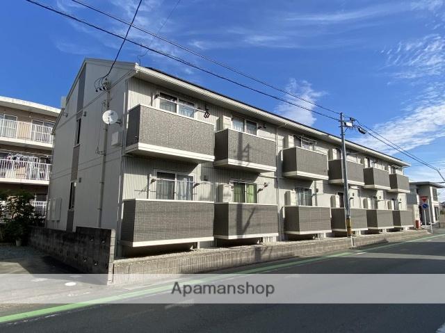 静岡県浜松市中区、浜松駅遠鉄バスバス20分曳馬橋下車後徒歩1分の築1年 2階建の賃貸アパート