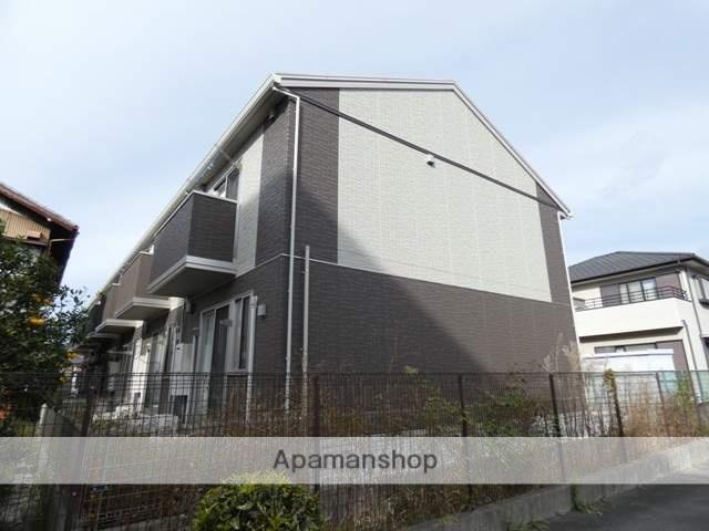 静岡県浜松市中区、浜松駅遠州鉄道バスバス15分曳馬橋下車後徒歩2分の築1年 2階建の賃貸アパート