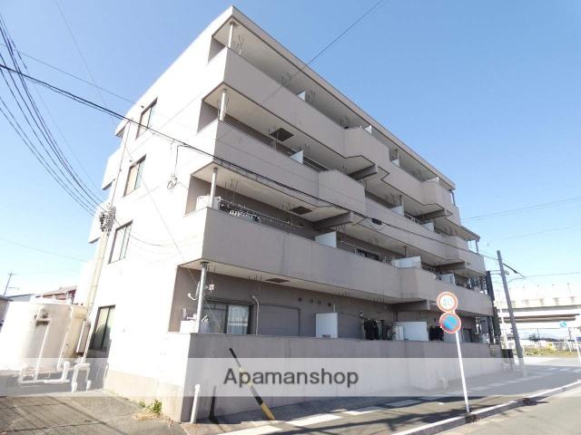 静岡県浜松市東区、天竜川駅徒歩33分の築28年 4階建の賃貸マンション