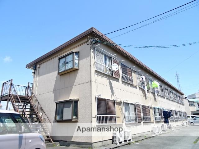静岡県浜松市西区、浜松駅バス15分矢田坂下車後徒歩1分の築36年 2階建の賃貸アパート