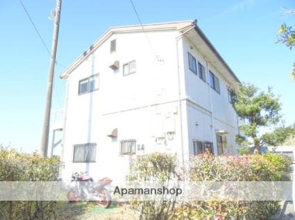 静岡県浜松市西区、浜松駅遠鉄バスバス40分佐浜西下車後徒歩5分の築27年 2階建の賃貸アパート
